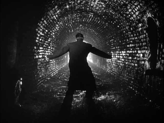Screen shot from Carol Reed's 'The Third Man'