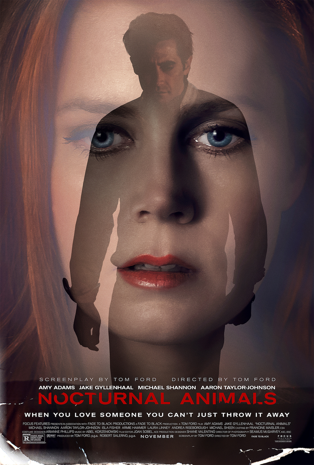 Image result for nocturnal animals movie poster