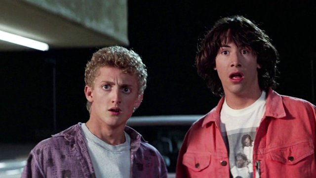 There Was Bill Teds Excellent Adventure A Sci Fi Comedy About Two Seemingly Dumb Teens Who Struggle To Prepare A Historical