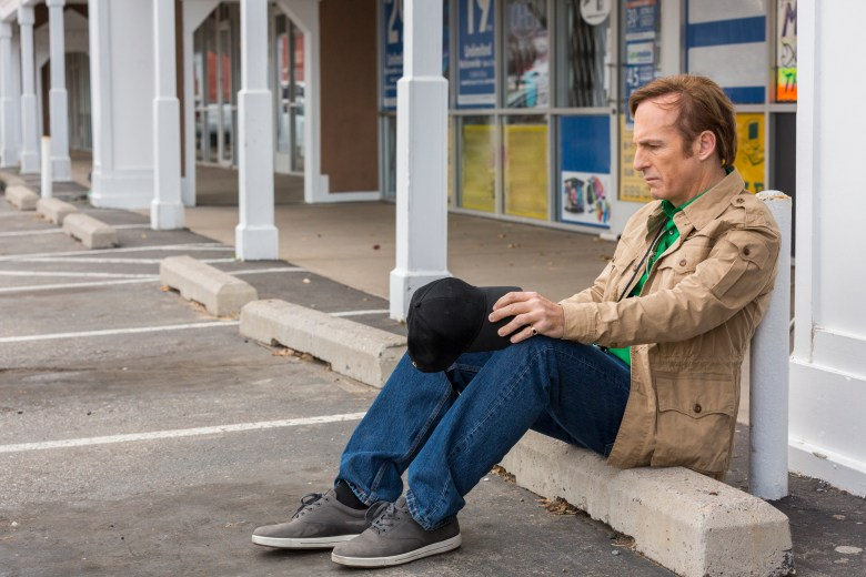 Bob Odenkirk as Jimmy McGill - Better Call Saul _ Season 3, Episode 7 - Photo Credit: Michele K. Short/AMC/Sony Pictures Television