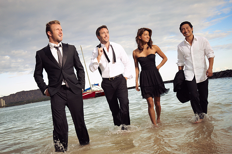 Scott Caan, Alex O'Loughlin, Grace Park, Daniel Dae Kim. CBS