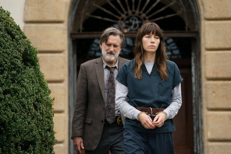 "Bill Pullman and Jessica Biel, ""The Sinner"""