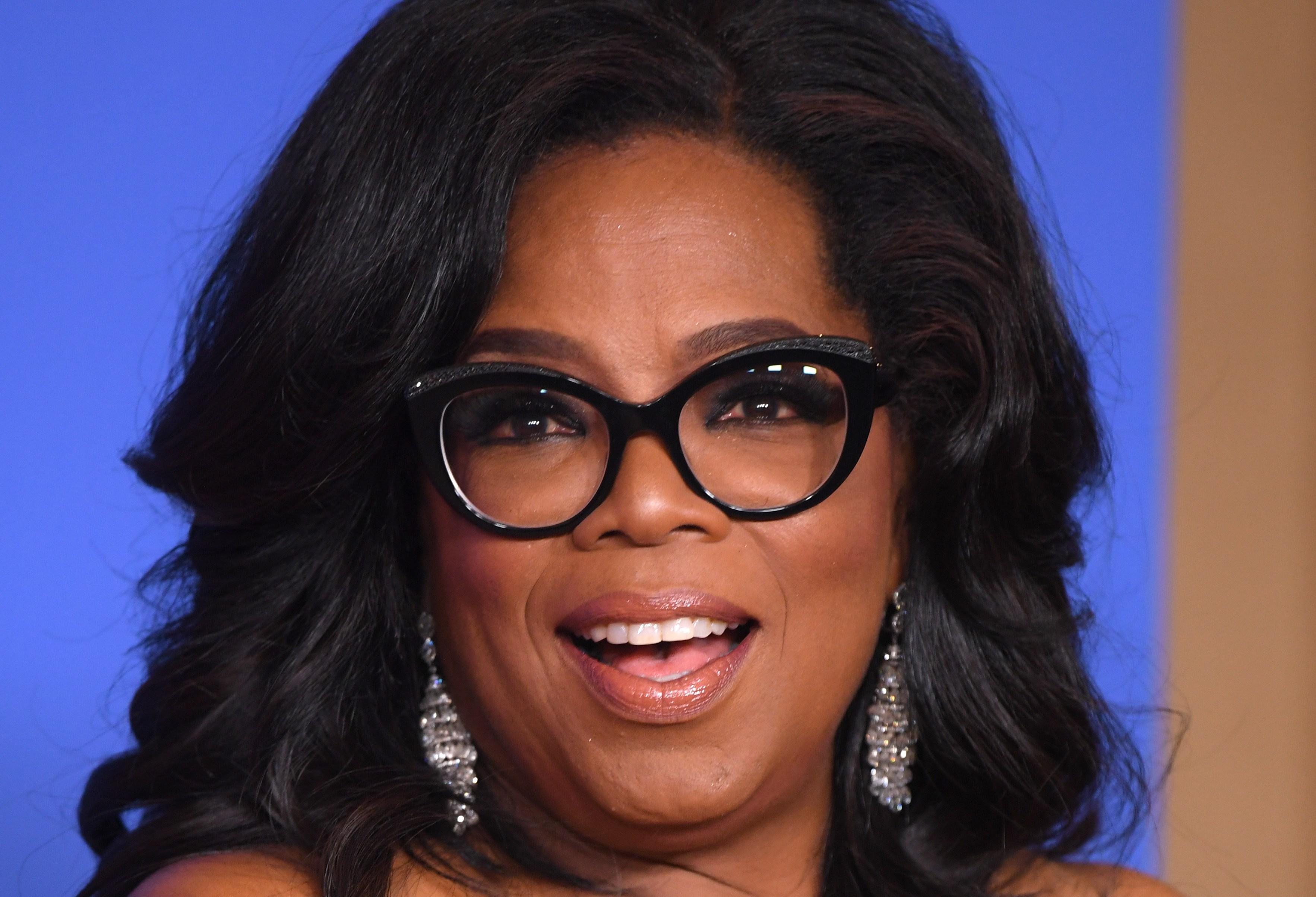Oprah Winfrey - Cecil B. DeMille Award75th Annual Golden Globe Awards, Press Room, Los Angeles, USA - 07 Jan 2018