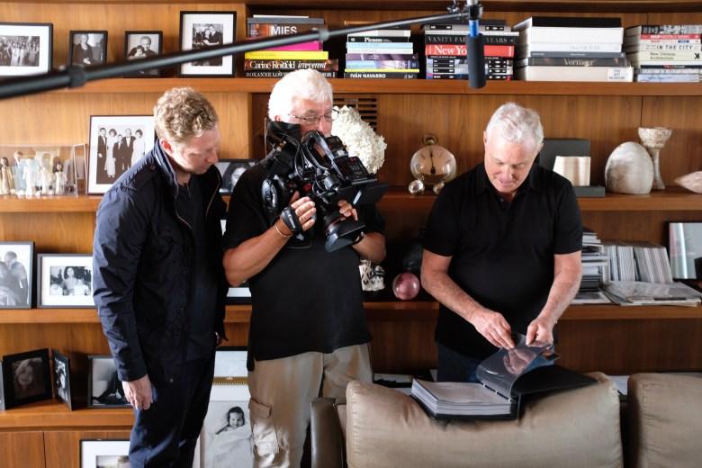 "Behind the scenes of shooting ""Studio 54"""
