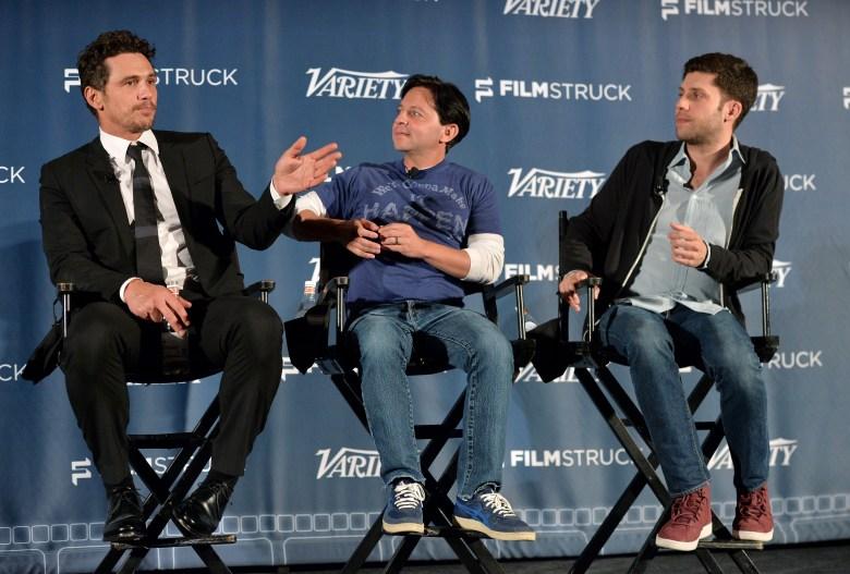 James Franco, Scott Neustadter and Michael H. Weber'The Disaster Artist' Variety film screening series, Los Angeles, USA - 04 Jan 2018