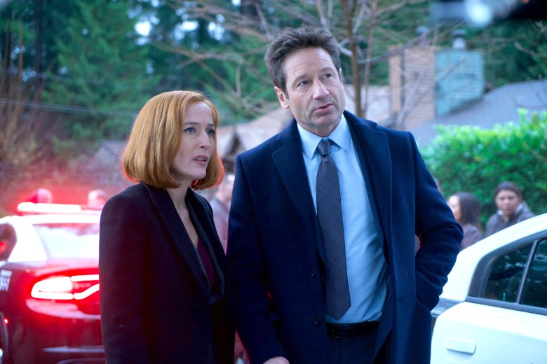 "Gillian Anderson and David Duchovny, ""The X-Files"""