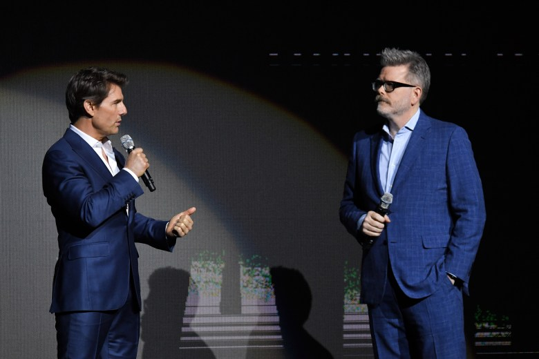Tom Cruise and Christopher McQuarrieParamount Pictures presentation, CinemaCon, Las Vegas, USA - 25 Apr 2018