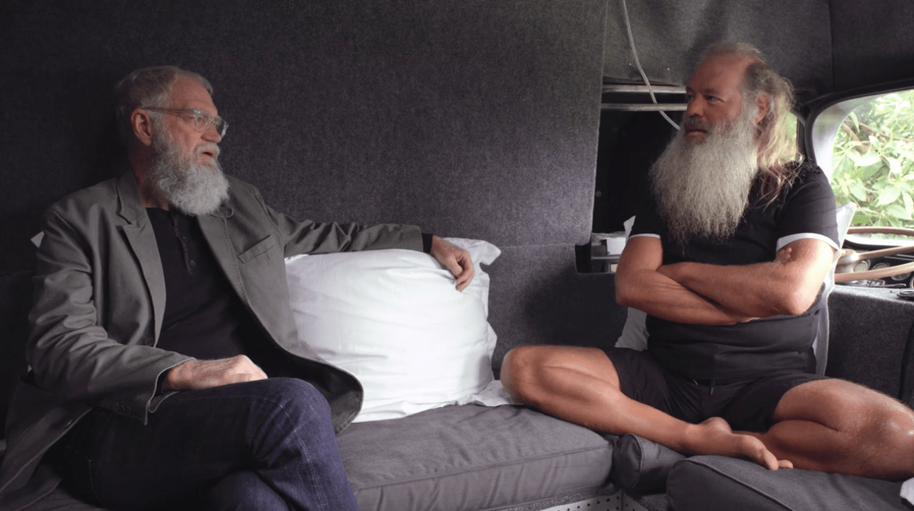 Image result for david letterman rick rubin