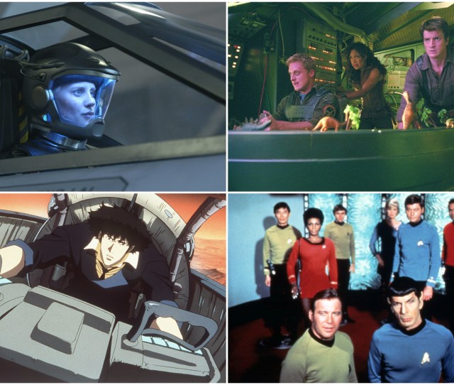 The 18 Best Sci Fi Tv Shows Set In Space Ranked