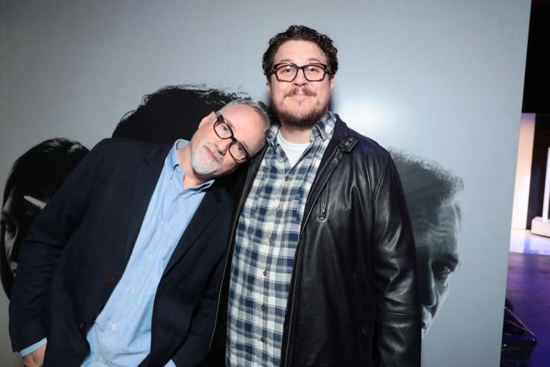 David Fincher, Director/Executive Producer, Cameron BrittonNetflix FYSEE MINDHUNTER Panel, Los Angeles, CA, USA - 1 June 2018