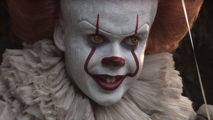 Bill Skarsgård Pennywise the clown