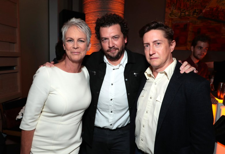 Jamie Lee Curtis, Executive Producer, Danny McBride, Writer/Executive Producer, David Gordon Green, Writer/Director/Executive ProducerUniversal Pictures' HALLOWEEN Premiere at the Toronto International Film Festival, Toronto, Canada - 8 Sep 2018