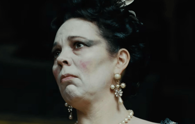 "Olivia Colman, ""The Favourite"""