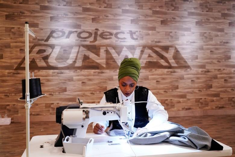 """Designer Renee HIll, """"Project Runway"""""""