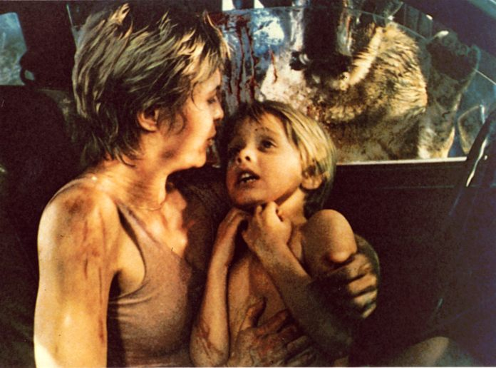 For editorial use only. No Book Cover Usage. Mandatory Credit: Photo by Taft / Kobal / REX / Shutterstock (5877187a) Dee Wallace, Danny Pintauro Cujo - 1983 Responsible: Lewis TeagueTaff EntertainmentUSAScene StillStephen King
