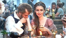 'Les Misérables': Lily Collins Considers the Happy Side of Fantine That the Musical Usually Skips Over