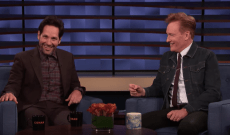 Paul Rudd's Recurring Gag With Conan O'Brien Hits 15 Years – Watch