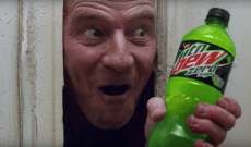 Bryan Cranston Recreates 'The Shining' in Bizarre Mountain Dew Super Bowl Ad