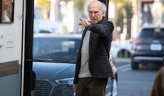 Larry David Urges Idiots to Stay Inside and Watch TV in Humorous PSA