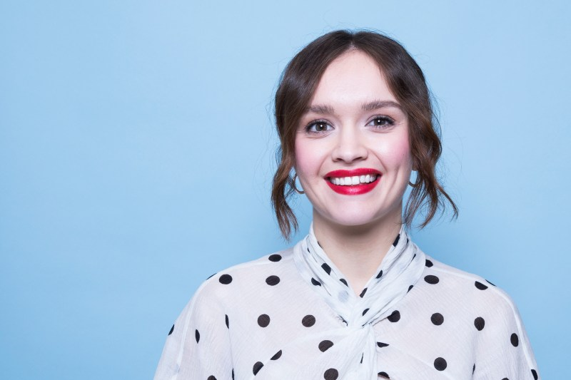 In this Dec. 12, 2018 photo, Olivia Cooke poses for a portrait in New York. (Photo by Amy Sussman/Invision/AP)