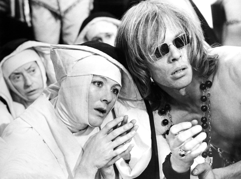 THE DEVILS, from left, Vanessa Redgrave, Michael Gothard, 1971