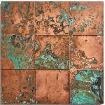 Oxidised Copper Tiles Oxidised Wall Cladding Indigenous Uk