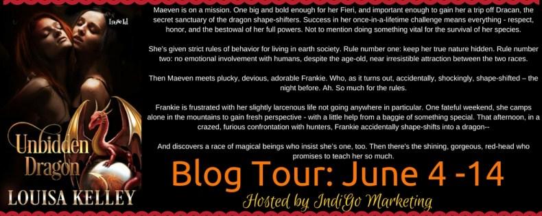 Unbidden Dragon Blurb Banner