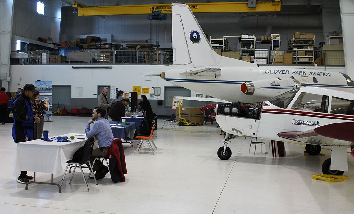 The School of Aerospace and Aviation, Clover Park Technical College