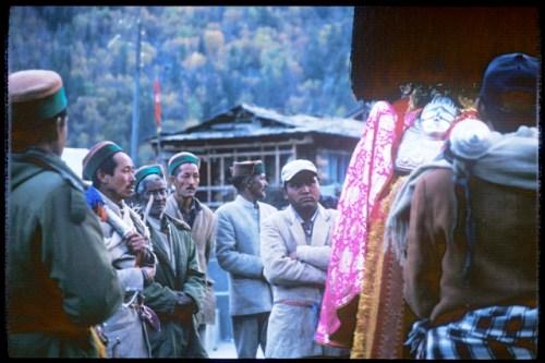 Grokch del villaggio di Chitkul