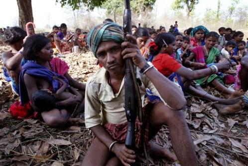 Allarme per la crescente diffusione in India di gruppi indipendentisti Maositi-Naxaliti