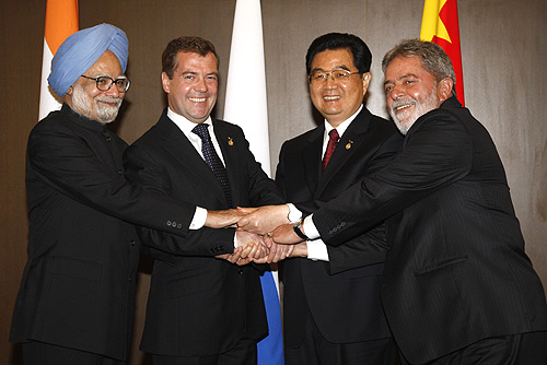 Il BRIC lancia la sfida alla supremazia occidentale. Ecco come Brasile, Russia, India e Cina cambieranno le cose