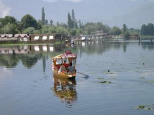 Shrinagar. House boat