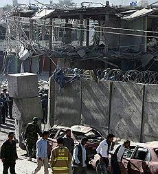 Attacco all'ambasciata indiana a Kabul