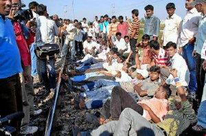 Manifestazini pro Telangana, foto The Hindu
