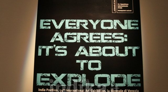 """India alla Biennale di Venezia. """"Tutti sono d'accordo: sta per esplodere…"""""""
