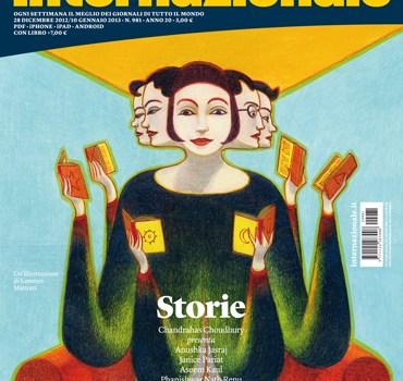 In edicola: Internazionale dedica un numero alla narrativa indiana.