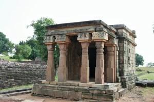 Tempio n. 17, Sanchi, Madhya Pradesh.