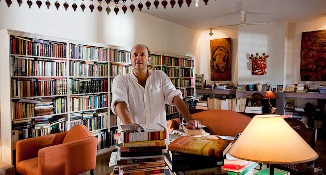 JAIPUR LITERATURE FESTIVAL 2015: INTERVISTA A WILLIAM DALRYMPLE. Di Gianni Dubbini.