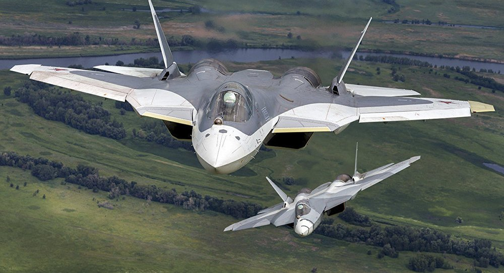 PAK FA T-50 received the official designation - Su-57