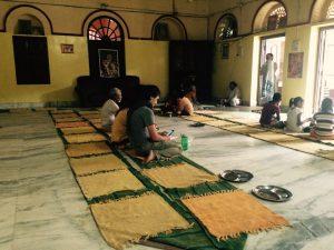 Prasadam - Munger Raj Mandir, Vrindavan, India