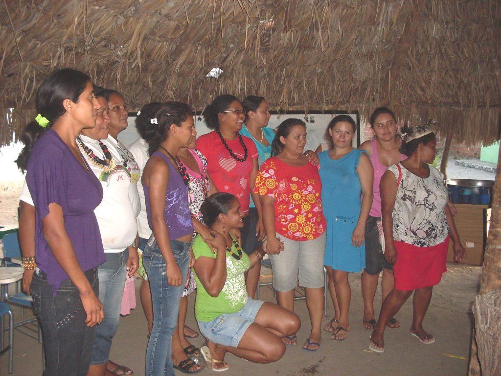 Guerreiras indígenas do Ceará!