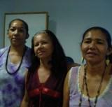 Socorro Tuxá, Suly Tuxá e Valdineide Tuxá ambas educadoras, militantes e sábias guerreiras do povo Tuxá, mulheres que mereçem nossa homenagem infinita