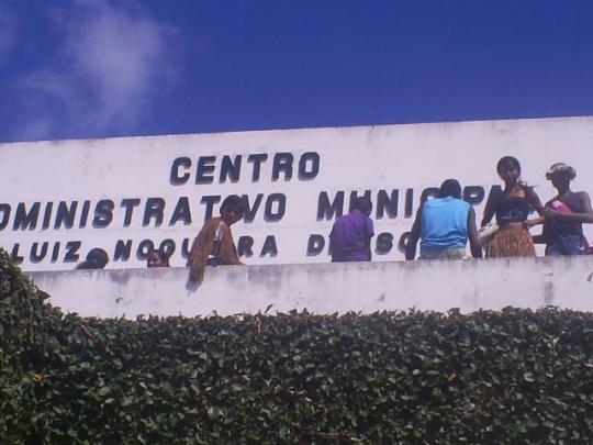 Pataxó ocupa a Prefeitura