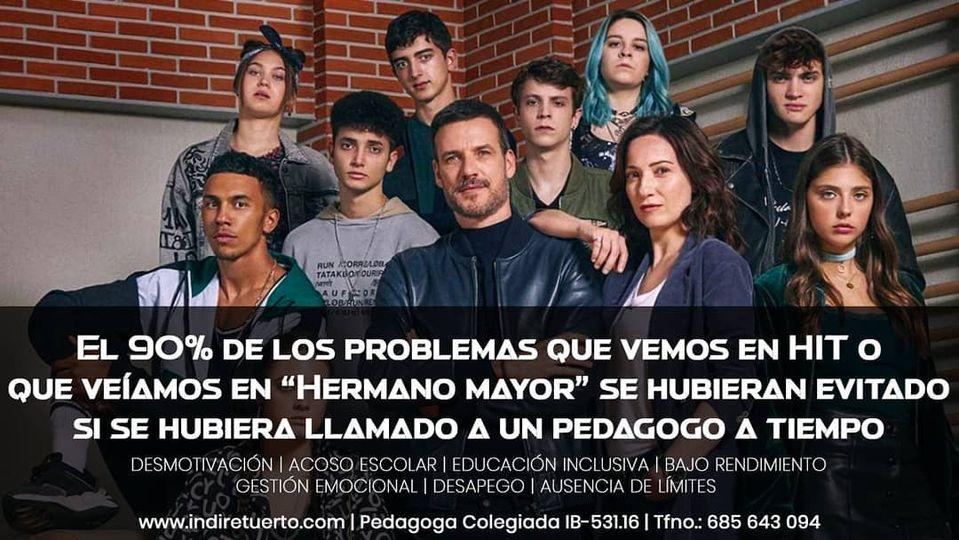 El 90% de los problemas que aparecen en HIT o Hermano Mayor se hubieran evitado con un pedagogo a tiempo. INDI Centro Pedagógico Ibiza