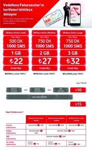 Vodafone عروض في تركيا