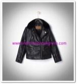 Zara kız çocuk siyah deri ceket-150 TL
