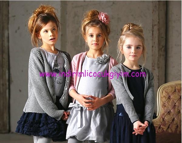 Kanz 1-14 yaş kız çocuk elbise modelleri