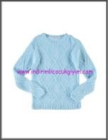 LCW genç kız açık mavi kazak modelleri-20 TL
