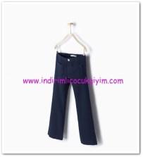 Zara kız çocuk indigo cepli jean pantolon-40 TL