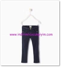 Zara kız çocuk lacivert pantolon-36 TL